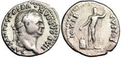 Ancient Coins - Vespasian IOVIS CVSTOS; Jupiter from Rome
