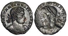 Ancient Coins - Constantine II brockage