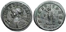 Ancient Coins - Probus SECVRIT PERP from Ticinum…shield with soldiers