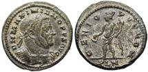 Ancient Coins - Maximianus GENIO POP ROM from London