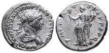 Ancient Coins - Trajan Felicitas reverse from Rome