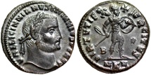 Ancient Coins - Licinius I VIRTVTI EXERCITVS from Cyzicus