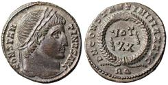 Ancient Coins - Constantine I VOT XX from Rome…ex-Dattari
