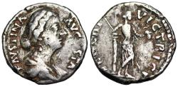 Ancient Coins - Faustina II VENERI VICTRICI from Rome