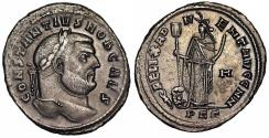Ancient Coins - Constantius I FELIX ADVENT AVGG NN from Carthage