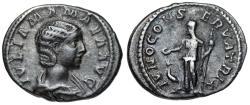 Ancient Coins -  Julia Mamaea IVNO CONSERVATRIX limes denarius