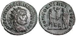 Ancient Coins - Maximianus CONCORDIA MILITVM from Cyzicus