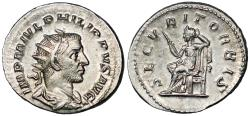 Ancient Coins - Philip I SECVRIT ORBIS from Rome