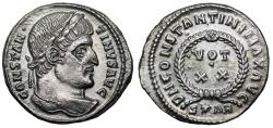 Ancient Coins - Constantine I VOT XX from Arles