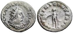 Ancient Coins - Valerian I APOLLINI CONSERVA from Rome
