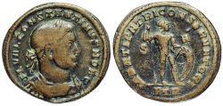 Ancient Coins - Constantine I MARTI PATRI CONSERVATORI from Trier…caesar issue