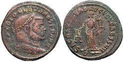 Ancient Coins - Diocletian SACRA MON VRB AVGG ET CAESS N N from Rome
