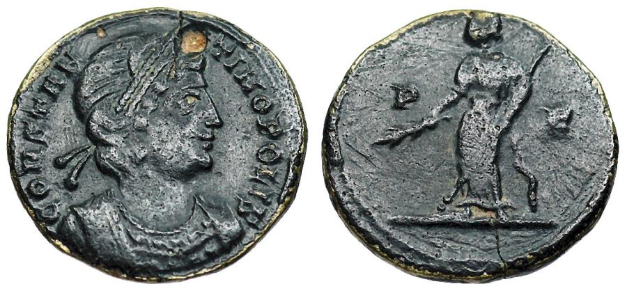 Ancient Coins - Constantinopolis from Rome with Pax reverse