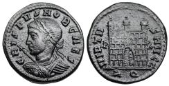 Ancient Coins - Crispus campgate from Rome...Not in RIC