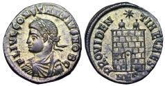 Ancient Coins - Constantius II campgate from Nicomedia