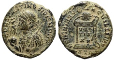 Ancient Coins - Constantine II BEATA from Trier…Not in RIC…decorated shoulder