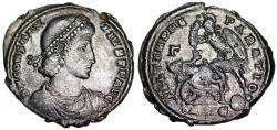 Ancient Coins - Constantius II FEL TEMP horsemen from Alexandria