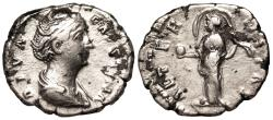 Ancient Coins - Diva Faustina AETERNITAS; Providentia from Rome