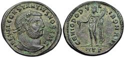 Ancient Coins - Constantius I GENIO from Heraclea