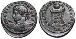 Ancient Coins - Crispus BEATA TRANQVILLITAS from Trier