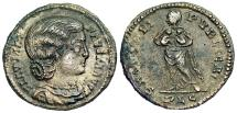 Ancient Coins - Fausta SALVS REIPVBLICAE from Lyons