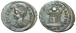 Ancient Coins - Crispus BEAT TRANQLITAS from London