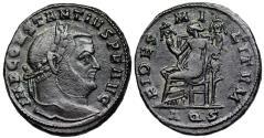 Ancient Coins -  Constantius I FIDES MILITVM from Aquileia