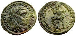 Ancient Coins - Divo Claudius II Posthumous issue from Siscia