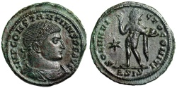 Ancient Coins - Constantine I SOL INVICTO from Siscia