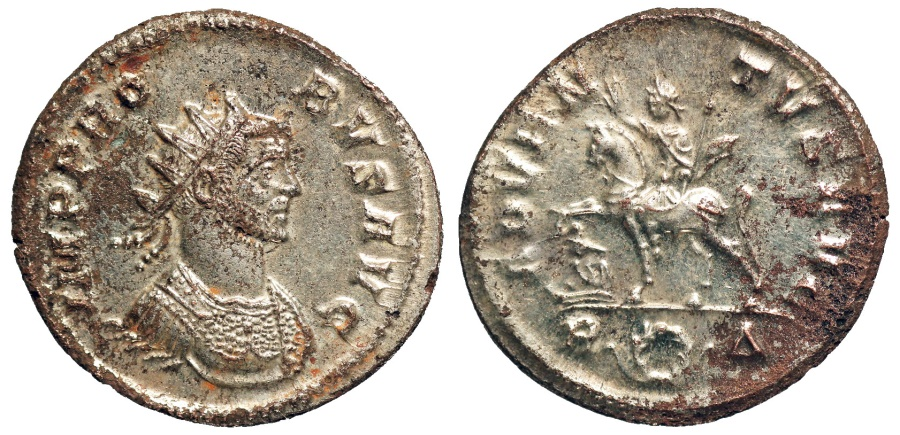 Ancient Coins - Probus ADVENTVS AVG from Rome