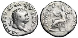 Ancient Coins - Titus ANNONA AVG from Rome