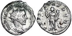 Ancient Coins - Volusian FELICITAS PVBL from Milan