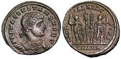 Ancient Coins - Constans GLORIA EXERCITVS from Antioch