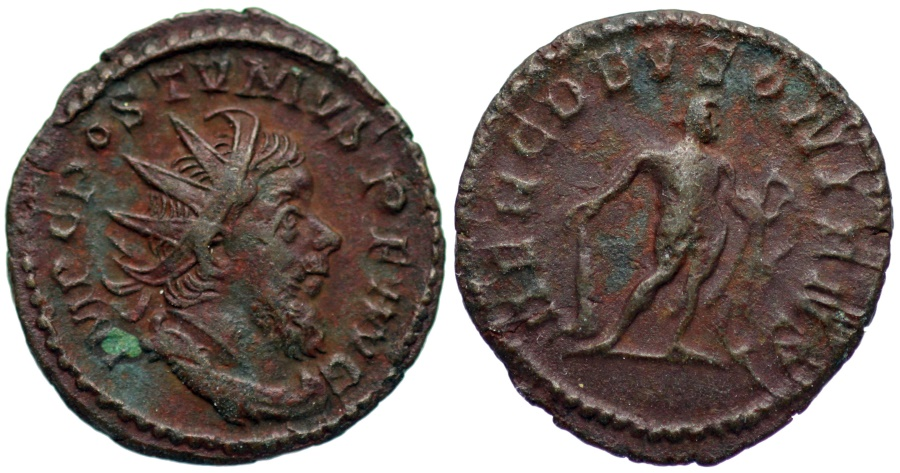 Ancient Coins - Postumus HERC DEVSONIENSI…bronze