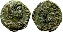 Ancient Coins - Constantius II VICTORIA CAESARIS from Siscia
