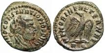 Constantius I MEMORIAE AETERNAE posthumous issue from Rome