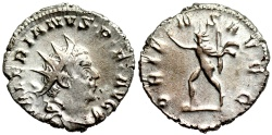 Ancient Coins - Valerian I ORIENS AVGG from Cologne