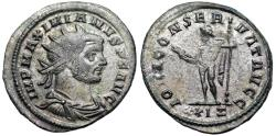 Ancient Coins - Maximianus IOVI CONSERVAT AVGG from Rome