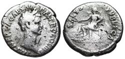 Ancient Coins - Nerva SALVS PVBLICA from Rome