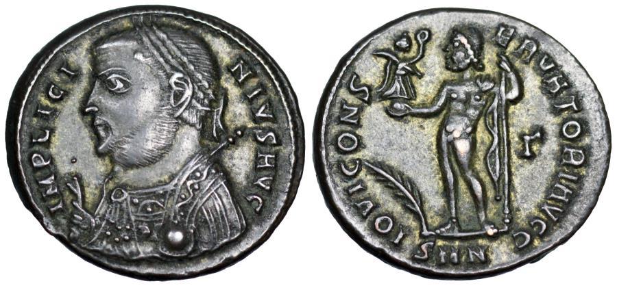Ancient Coins - Licinius I IOVI CONSERVATORI AVGG from Nicomedia