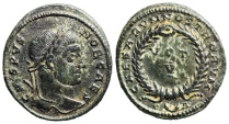 Ancient Coins - Crispus VOT V from Arles...unlisted workshop