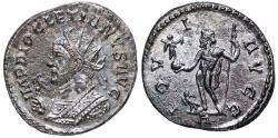 Ancient Coins - Diocletian IOVI AVGG from Lyons