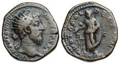 Ancient Coins - Marcus Aurelius VOTA SOL DECENN from Rome