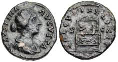Ancient Coins - Faustina II SAECVLI FELICIT from Rome
