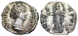 Ancient Coins - Diva Faustina AETERNITAS from Rome