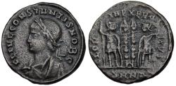 Ancient Coins -  Constans GLORIA EXERCITVS from Nicomedia…unusual legend