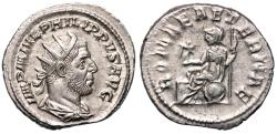 Ancient Coins - Philip I ROMAE AETERNAE from Rome