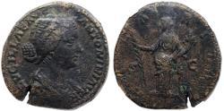 Ancient Coins - Lucilla HILARITAS sestertius from Rome