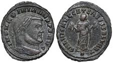 Ancient Coins - Maximianus SALVIS AVGG ET CAESS FEL KART from Carthage