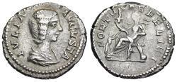 Ancient Coins - Julia Domna FORTVNAE FELICI from Rome